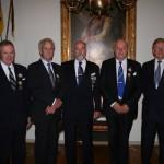 Björn Wallin, Sixten Nilsson, Sune Birke, Thor-Lennart Loo och Lennart Levin