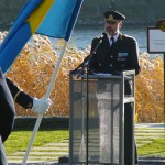 Anders Brännström håller Försvarsmaktens högtidstal
