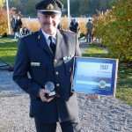 Peacekeeper of the Year 2007 övlt Ingemar Robertsson