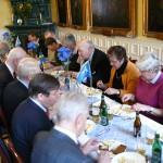 Lunchen på Militärsällskapet
