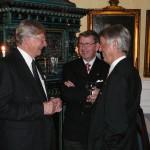 Lennart Levin, Jan Henrik Bergqvist och Roger Lindekrantz.