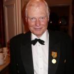 En stolt och lycklig medaljör