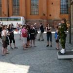 Hemvärnssoldat ur högvaktsstyrkan ur Fältjägargruppen