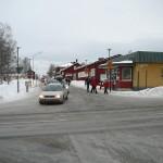 Fd kaservakten. OBS kaserngrinden och staketet borttagna. Foto: 2008-02-16