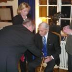 Charlotte Fornwall, Leif Herlitz, fd regementschefen Sture Fornwall och Hugo von Sydow